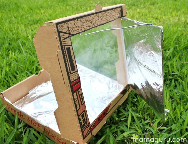 Experimentos para niños sobre horno solar