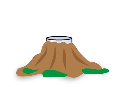Decora tu volcán con platilina